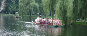 Swan Boat Boston Public Garden Viviana DeSimone RE